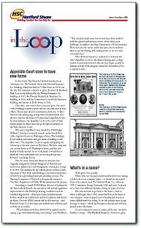 In the Loop  - download Hartford Steam's newsletter